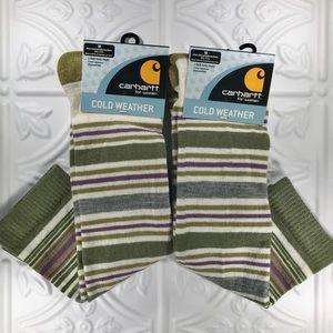 2pr Carhartt for Women Cold Weather Wool Blend